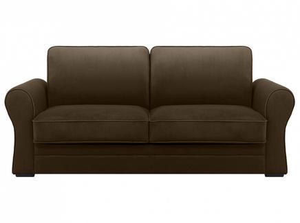 Диван belgian (ogogo) коричневый 205x90x105 см.