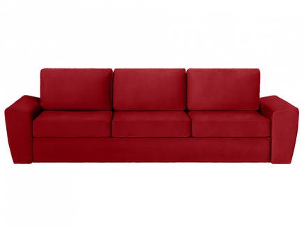 Диван peterhof (ogogo) красный 290x88x96 см.