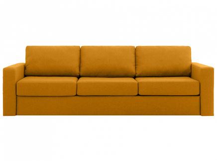 Диван peterhof (ogogo) желтый 271x88x96 см.