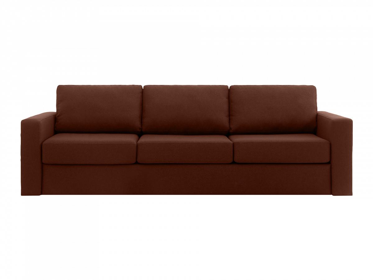 Ogogo диван peterhof коричневый 112942/2