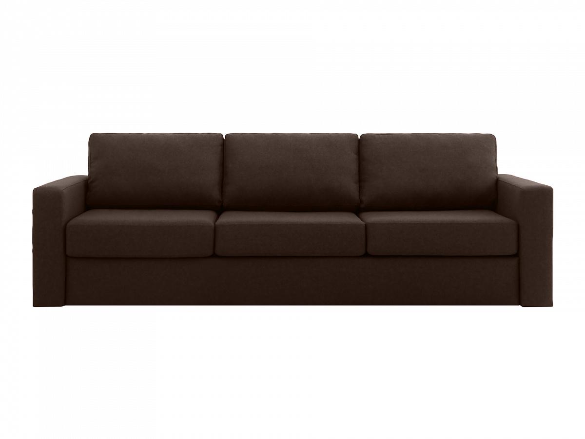 Ogogo диван peterhof коричневый 112948/9