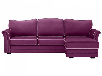 Диван sydney (ogogo) фиолетовый 283x97x173 см.
