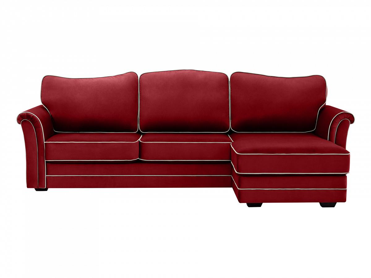 Ogogo диван sydney красный 112965/8