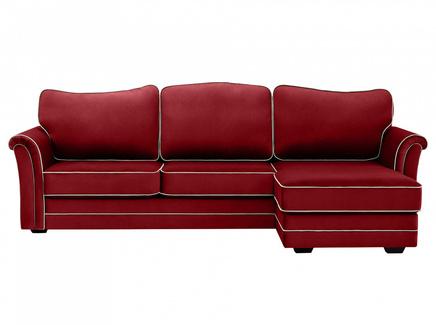 Диван sydney (ogogo) красный 283x97x173 см.