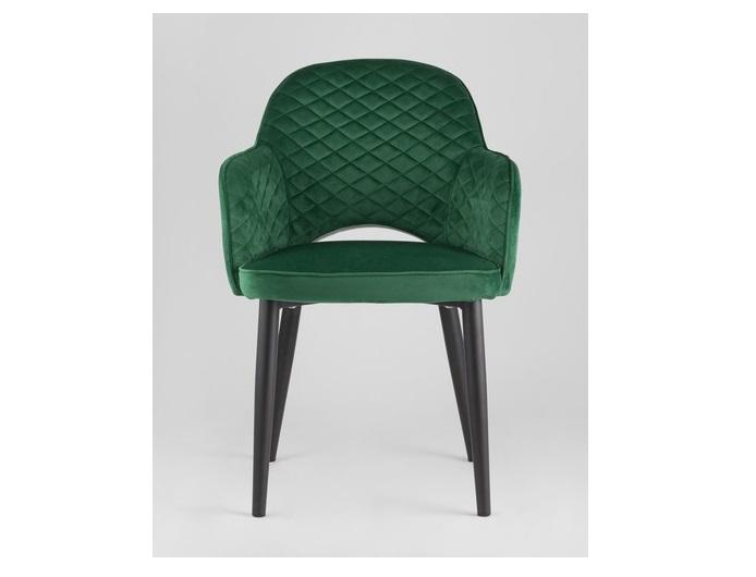 Стул венера диамант (stool group) зеленый 58x82x49 см.
