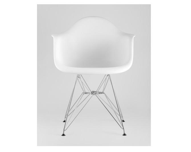 Стул eames dar (stool group) белый 42x81x43 см.