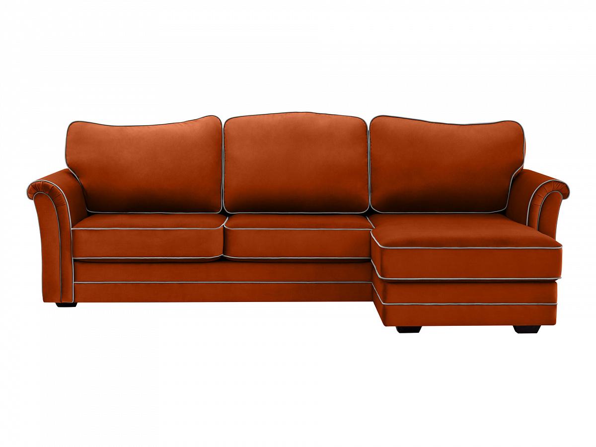 Ogogo диван sydney коричневый 113002/6