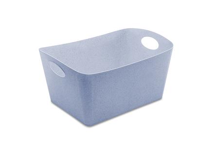 Контейнер для хранения boxxx l organic (koziol) синий 46x23x32 см.