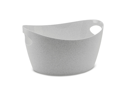 Контейнер для хранения bottichelli m organic (koziol) серый 32x18x29 см.