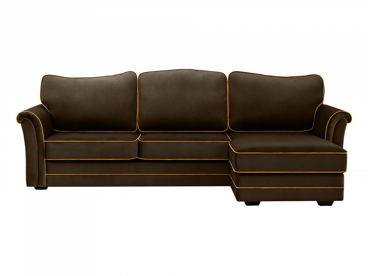 Ogogo диван sydney коричневый 113007/113051