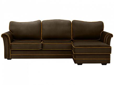 Диван sydney (ogogo) коричневый 283x97x173 см.