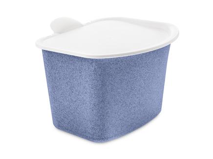 Контейнер для пищевых отходов bibo organic (koziol) синий 20x16x22 см.