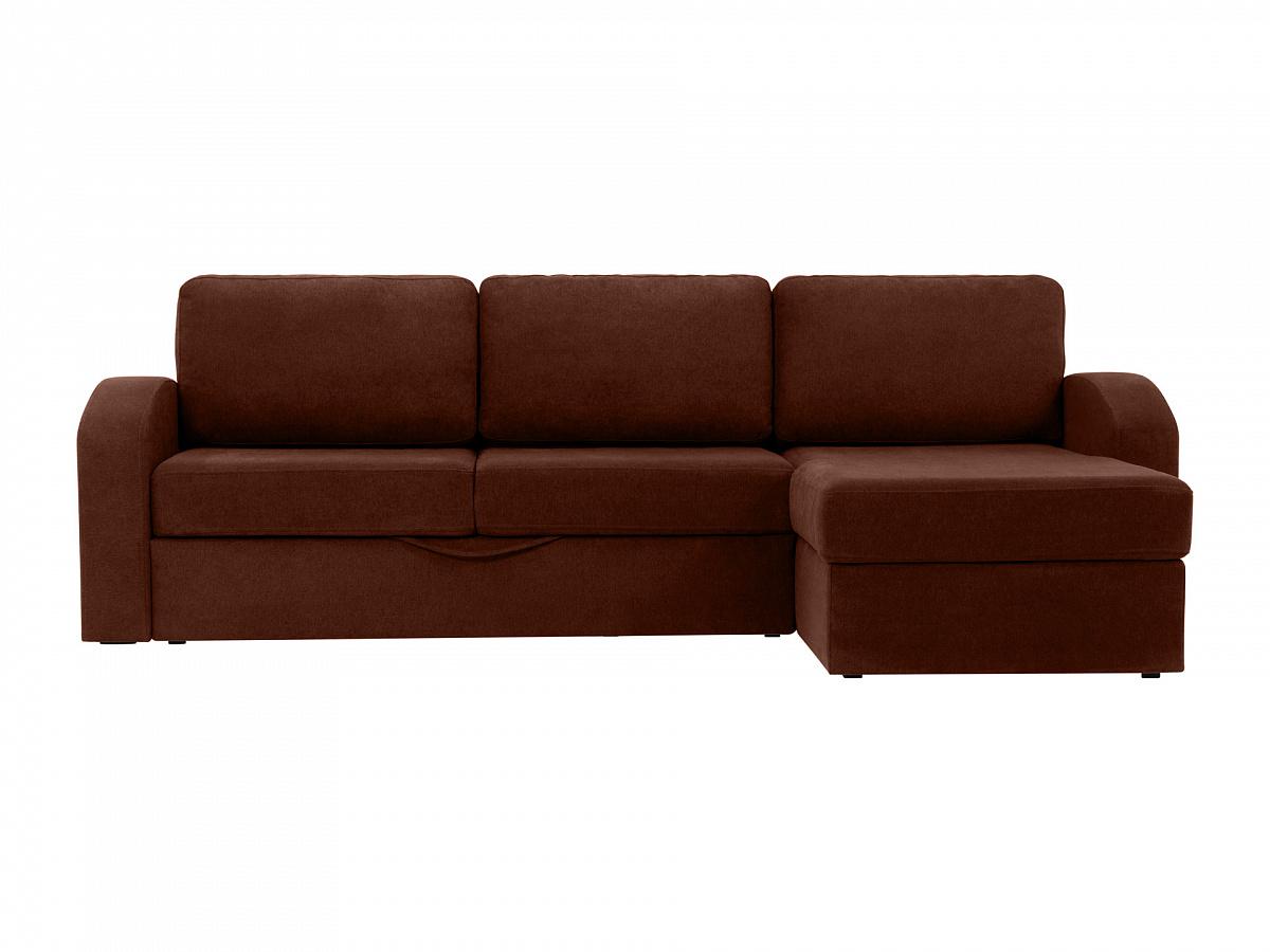 Ogogo диван peterhof коричневый 113030/113045