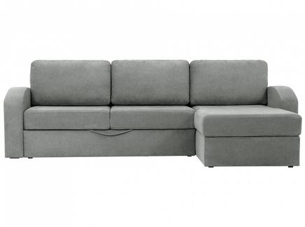 Диван peterhof (ogogo) серый 282x88x170 см.