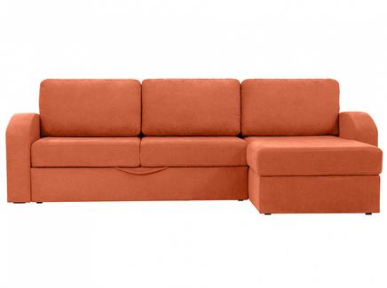 Диван peterhof (ogogo) оранжевый 282x88x170 см.