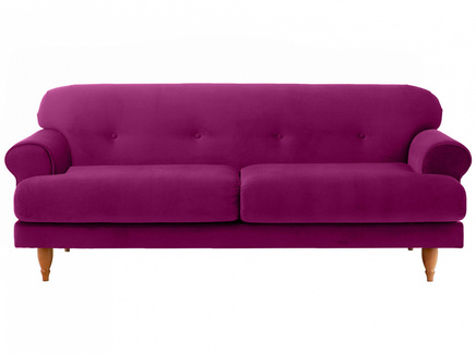 Диван italia (ogogo) фиолетовый 197x79x98 см.