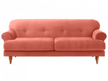 Диван italia (ogogo) оранжевый 197x79x98 см.