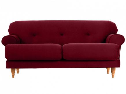 Диван italia (ogogo) красный 159x79x98 см.