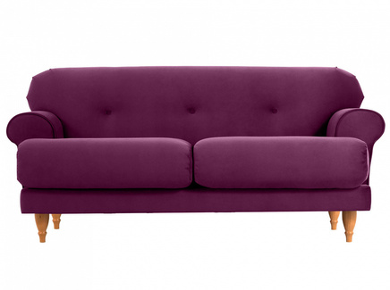 Диван italia (ogogo) фиолетовый 159x79x98 см.