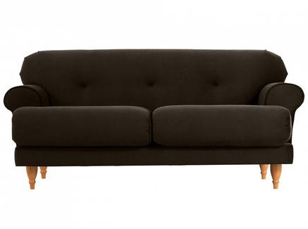 Диван italia (ogogo) коричневый 159x79x98 см.
