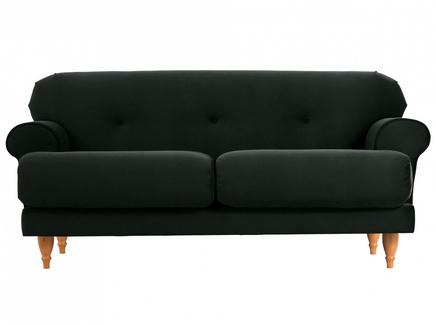 Диван italia (ogogo) черный 159x79x98 см.
