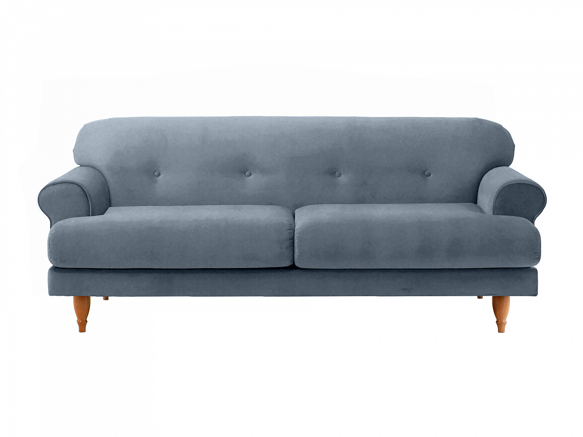 Ogogo диван italia серый 113089/5