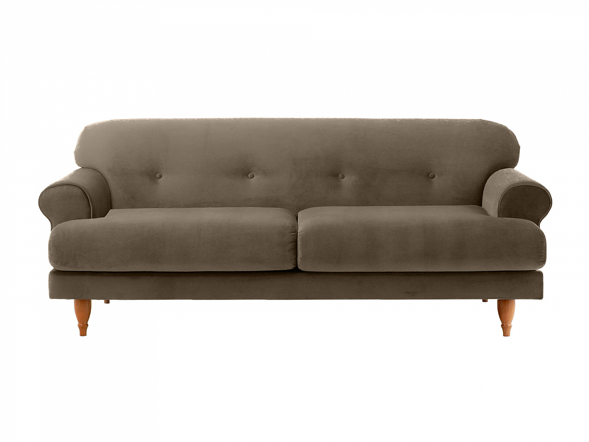 Ogogo диван italia серый 113095/9