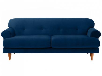 Диван italia (ogogo) синий 197x79x98 см.