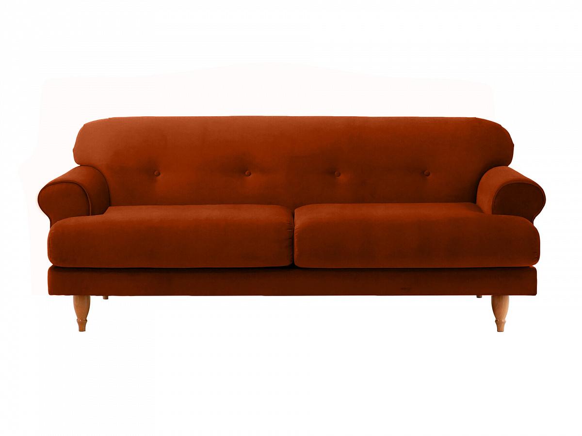 Ogogo диван italia коричневый 113098/6