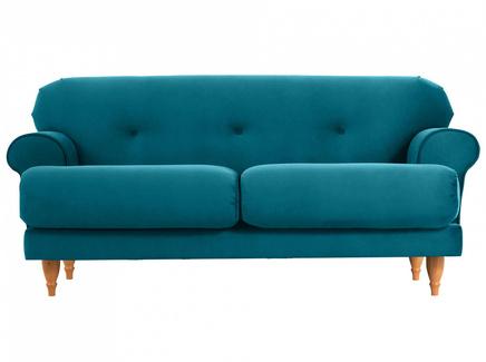 Диван italia (ogogo) голубой 159x79x98 см.
