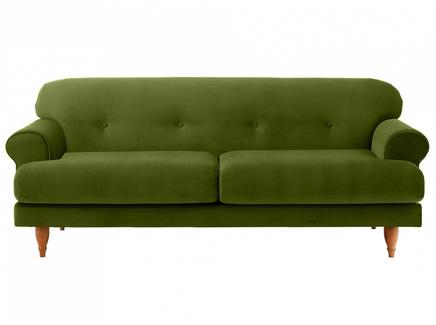 Диван italia (ogogo) зеленый 197x79x98 см.