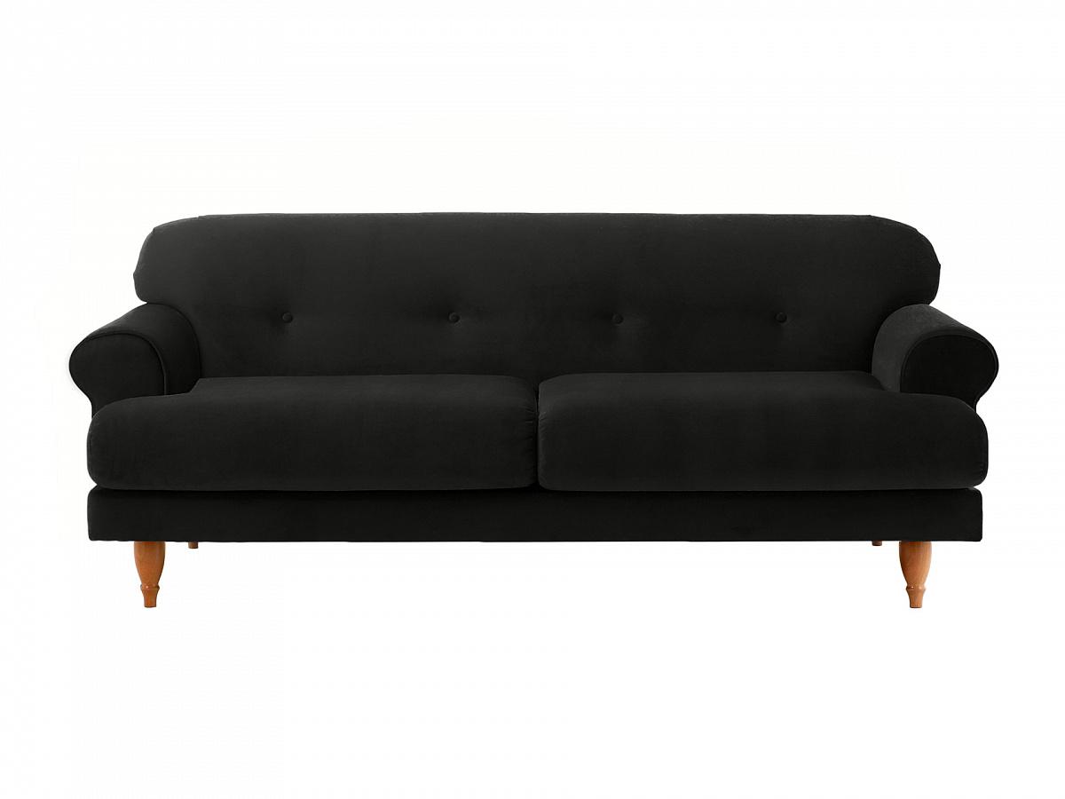 Ogogo диван italia черный 113120/2