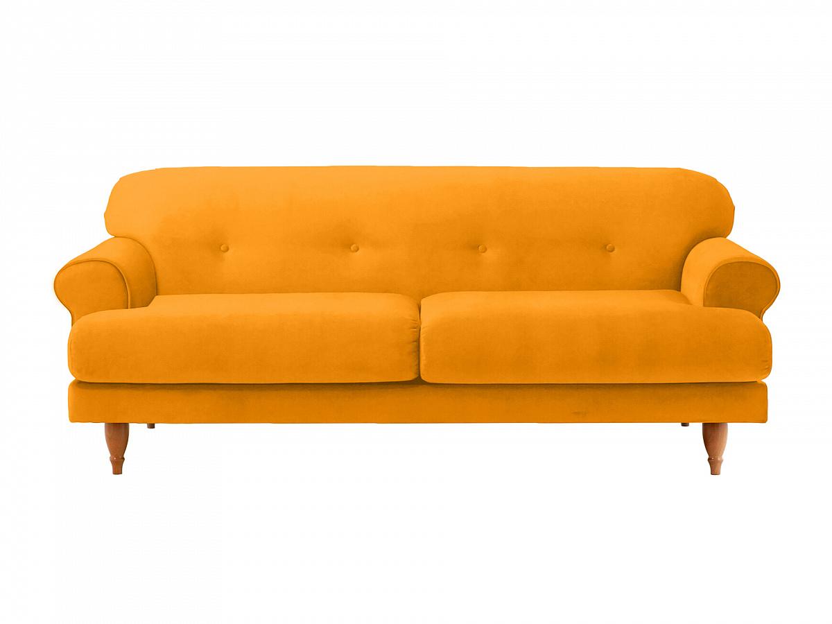 Ogogo диван italia желтый 113121/7