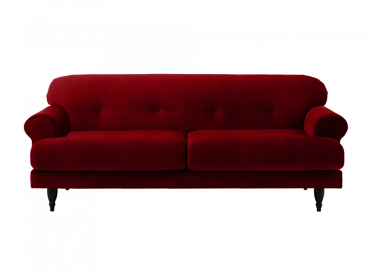 Ogogo диван italia красный 113123/2