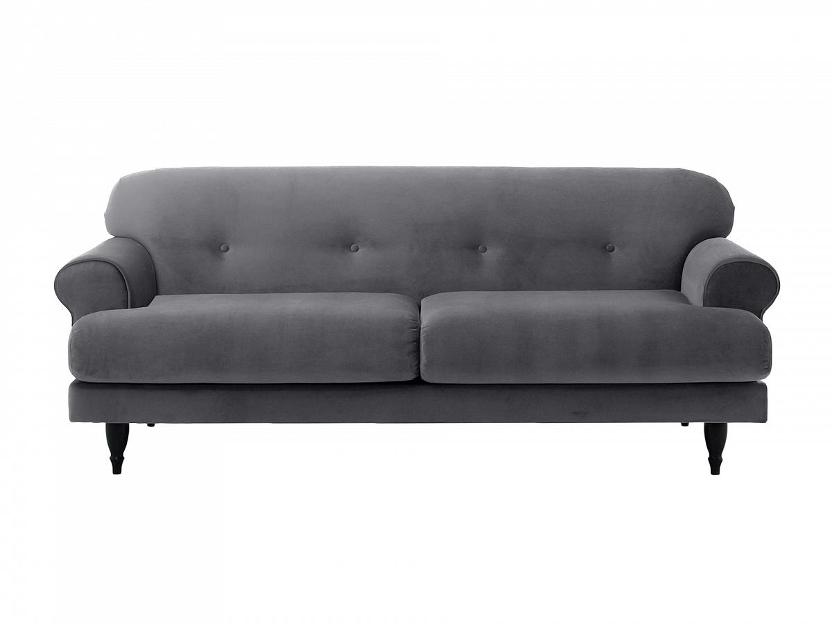 Ogogo диван italia серый 113127/7