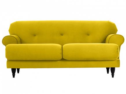 Диван italia (ogogo) желтый 159x79x98 см.