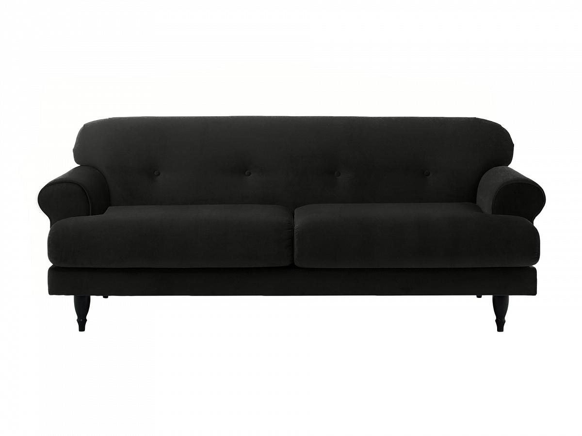 Ogogo диван italia черный 113134/1