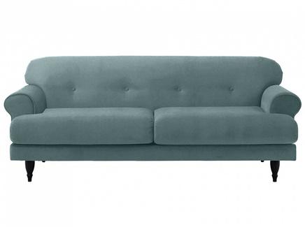 Диван italia (ogogo) голубой 197x79x98 см.