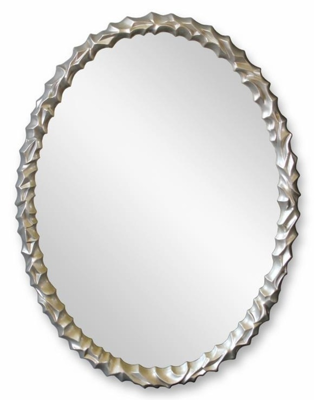 Зеркало FrostНастенные зеркала<br>&amp;lt;div&amp;gt;Frost – простой и элегантный предмет, который идеально впишется в уютную гостиную, спальню или ванную комнату. Овальное зеркало заключено в раму с объемным рельефным декором, который придаст интерьеру легкости. Модель выполнена в приятном цвете «под серебро», подчеркивающем благородство образа. &amp;amp;nbsp;&amp;lt;br&amp;gt;&amp;lt;/div&amp;gt;&amp;lt;div&amp;gt;&amp;lt;br&amp;gt;&amp;lt;/div&amp;gt;Цвет: Серебро&amp;lt;div&amp;gt;Материал: Полиуретан&amp;lt;/div&amp;gt;<br><br>Material: Стекло<br>Width см: 70<br>Height см: 90