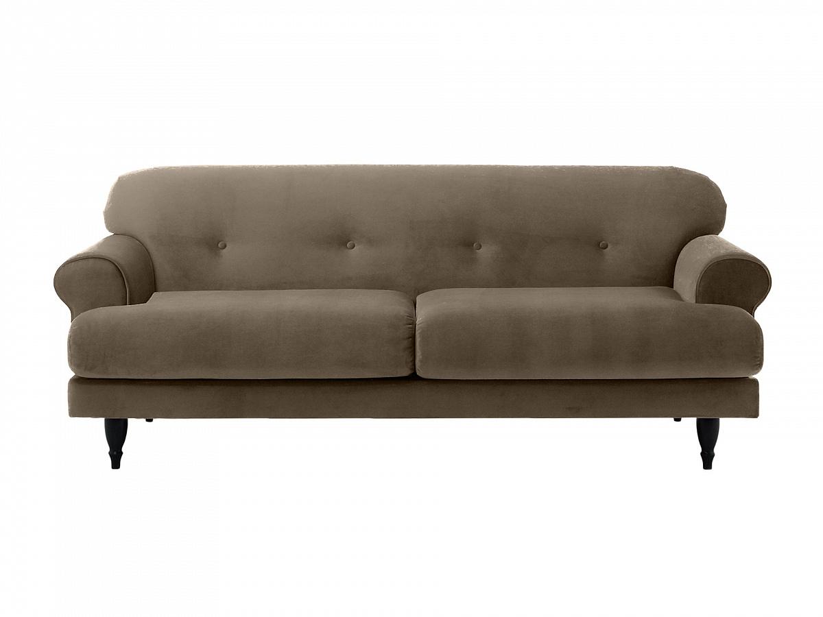 Ogogo диван italia серый 113243/3