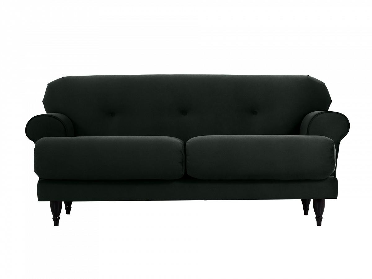 Ogogo диван italia черный 113246/9