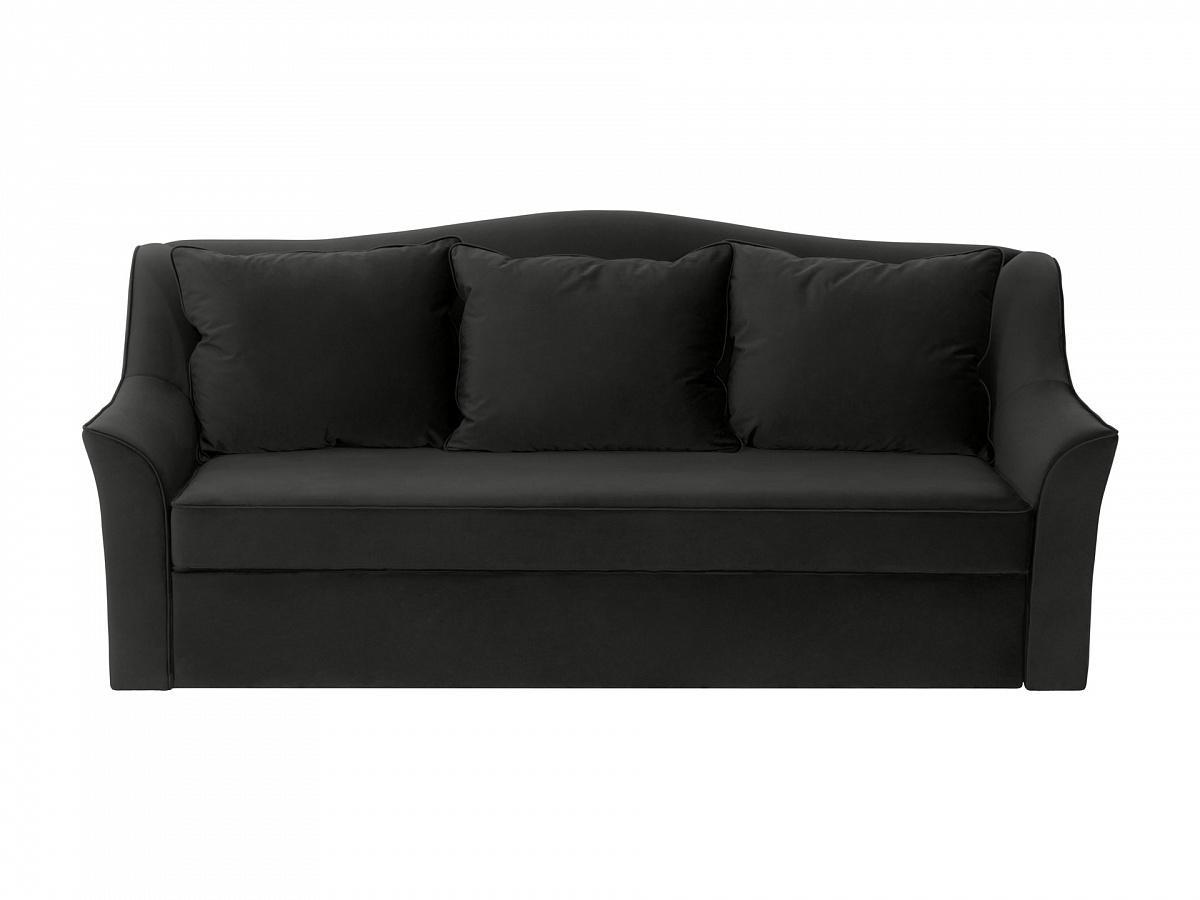 Ogogo диван-кровать vermont черный 113251/3