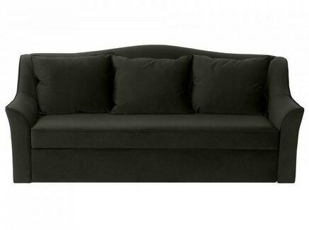 Диван-кровать vermont (ogogo) черный 240x105x109 см.