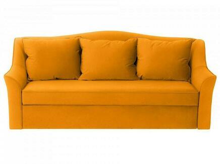 Диван-кровать vermont (ogogo) желтый 240x105x109 см.