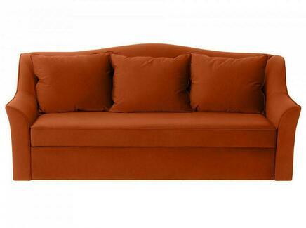 Диван-кровать vermont (ogogo) коричневый 240x105x109 см.
