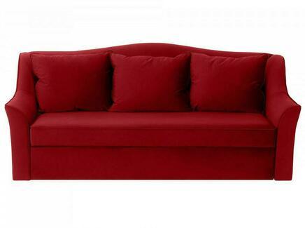 Диван-кровать vermont (ogogo) красный 240x105x109 см.