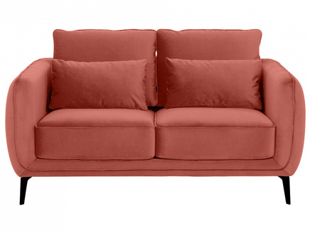 Диван amsterdam (ogogo) розовый 146x85x95 см.