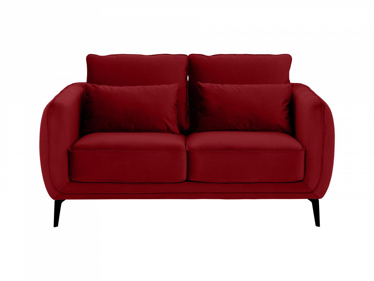 Ogogo диван amsterdam красный 113301/1