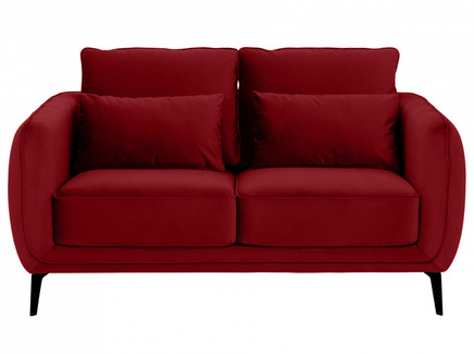 Диван amsterdam (ogogo) красный 146x85x95 см.