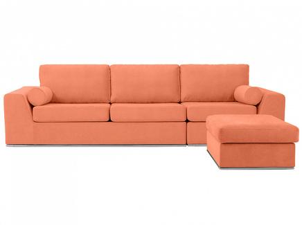 Диван igarka (ogogo) оранжевый 300x73x180 см.